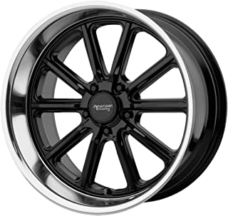 AMERICAN RACING VN507 RODDER Wheel with BLACK and Chromium (hexavalent compounds) (18 x 8. inches /5 x 72 mm, 0 mm Offset)