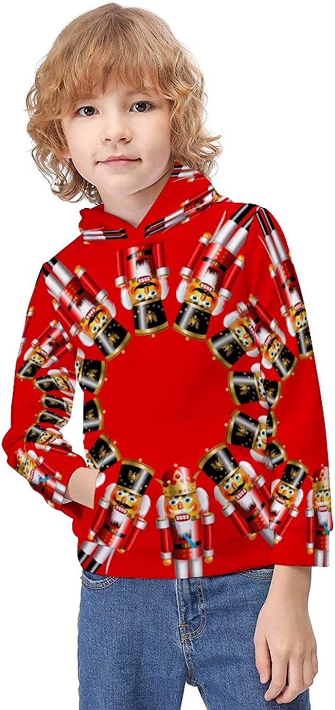 Boys Girls Stylish Hoodies Comfortable Hooded Pullover Sweatshirts School Long Sleeve Sweater for Unisex