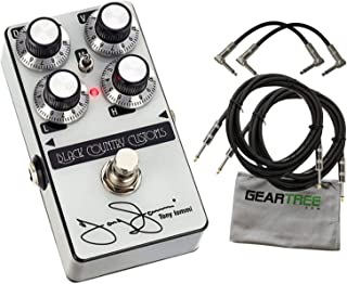 Laney Black Country Customs Ti-Boost Tony Iommi Signature Boost w/ 4 Cables and