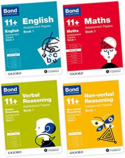 Bond 11+: English, Maths, Non-Verbal Reasoning, Verbal Reasoning: Assessment Papers: Bond 11+: English, Maths, Non-verbal Reasoning, Verbal Reasoning: Assessment Papers 10-11 years bundle