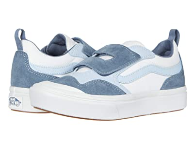 Vans Kids Autism Awareness ComfyCush New Skool V (Little Kid) ((Autism Awareness) Blue) Kids Shoes