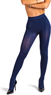 Super Opaque Tights for Women - Winter Thermal Stockings   100 Den [Made in Italy]