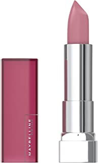 Maybelline Color Sensational Lipstick, Lip Makeup, Matte Finish, Hydrating Lipstick, Nude, Pink, Red, Plum Lip Color, Blus...
