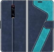 MOBESV Custodia Xiaomi Mi 9T, Cover a Libro Xiaomi Mi 9T, Custodia in Pelle Xiaomi Mi 9T PRO Magnetica Cover per Xiaomi Mi 9T / 9T PRO, Elegante Blu