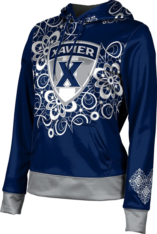 ProSphere Xavier University Girls' Pullover Hoodie, School Spirit Sweatshirt (Foxy)