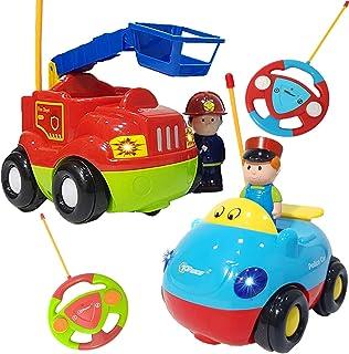 Y De Carreras Amazon Playmobil Coches Bomberos esCamion ZkOwPXiTu