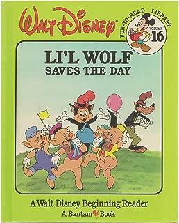 Li'l Wolf Saves the Day (Walt Disney Fun-To-Read Library, Volume 16)