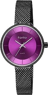 Women Watch Elegant Fashion Top Brand Luxury Small Wristwatch Ladies Dress Waterproof Gold Mesh Quartz Watch for Women