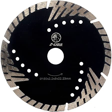Diamond Saw Blade 6 Inch Granite Circular Concrete Tile Stone Carbide Marble