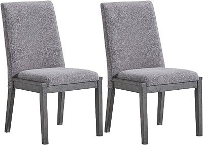 Amazon.com: Armen Living LCDESIAS Deborah Dining Chair Set ...