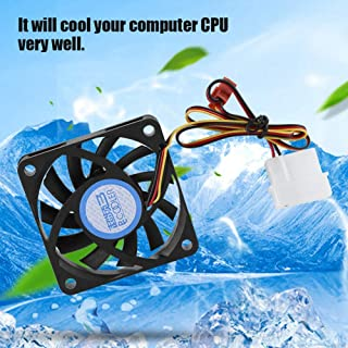 CPU Cooling Fan, 4Pin/3Pin 11 Blades Mute Large Air Volume CPU Heatsink, for Computer
