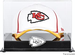 Kansas City Chiefs Acrylic Cap Logo Display Case - Football Hat Free Standing Display Cases