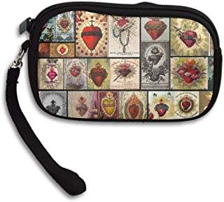 Butterfly Art Deluxe Printing Small Purse Portable Receiving Bag