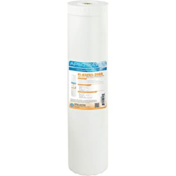 Manganese Hydrogen Sulfide NEW KDF-85 Water Filter for Removal of Iron