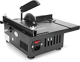 Mini Table Saw Set - 1200W Multifunctional Woodworking Table Saw Wood Cutting Table Power Saws Small Cutting Tools for Cut...