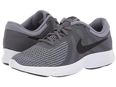 Nike Kids Revolution 4 (Big Kid) (Dark Grey/Black/Cool Grey/White) Boys Shoes