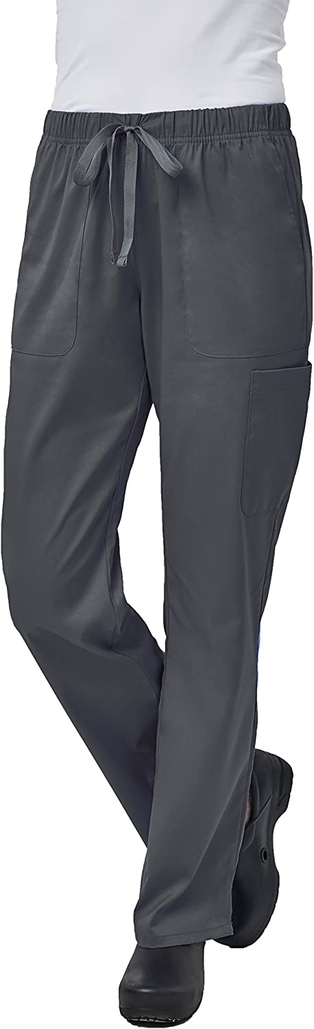 Elements Women's Scrub Pant EL9305   Four Way Stretch   Perfect for Medical, Dental, Veterinary and O.R.