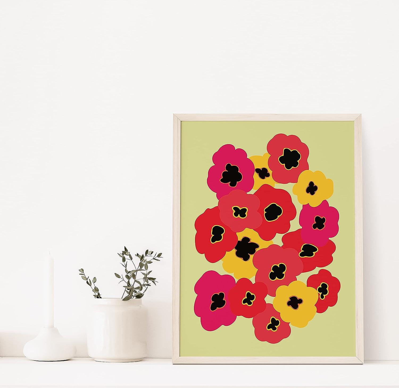 Amazon.com Bedroom Wall Art for Women   Midcentury Modern Poster ...