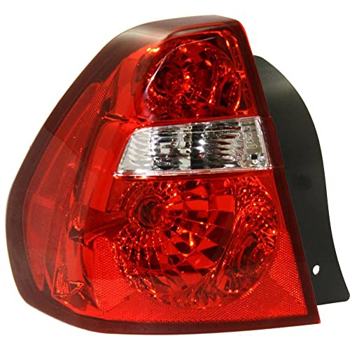 Tail Light for Chevrolet Malibu 04-08 Assembly Fwd Left Side