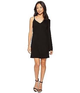 One Sleeve Mini Dress