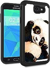 Galaxy J7 V 2017/J7 2017/J7 Prime/J7 Perx/J7 Sky Pro/Galaxy Halo Case,Spsun Dual Layer Hybrid Hard Protector Cover Anti-Drop TPU Bumper for Samsung Galaxy J7V 2017,Smile Panda