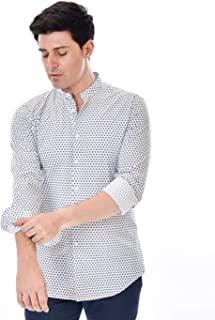 Marcus Camisa de Hombre by Delsiena Blanca de Puro