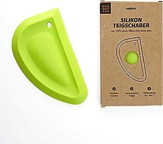 Collory Silikonskrapa | degskrapa | Skålskrapa | degspatel | degkort | spatel | Flexibel och non-stick beläggning