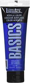 Liquitex Basics Acrylics Colors primary blue 4 oz. tube [PACK OF 3 ]