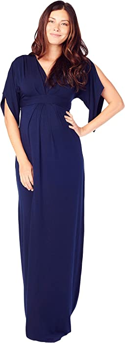 Maternity Kimono Maxi Dress
