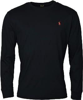Polo Ralph Lauren Mens Long Sleeve Crewneck Logo T-Shirt