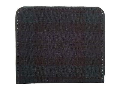Pendleton Tartan Snap Wallet (Black Watch Tartan) Handbags