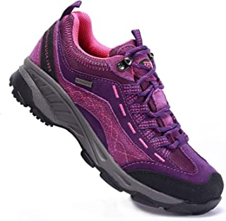 TFO Women's Hiking Shoes Anti-Slip Breathable Sneakers for Outdoor Walking Trekking