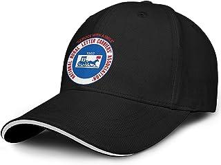 WJINX National Rural Letter Carriers` Association Men Women Funny Sandwich Dad Cap Adjustable Snapback Sun Hat