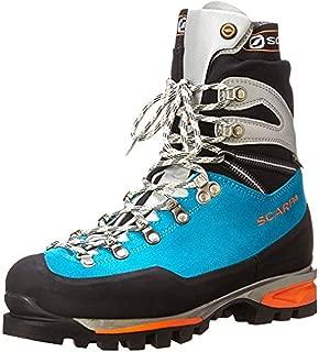 SCARPA Women's Mont Blanc Pro GTX Mountaineering Boots & E-Tip Glove Bundle