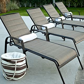 Best coral coast del rey padded sling chaise lounges Reviews