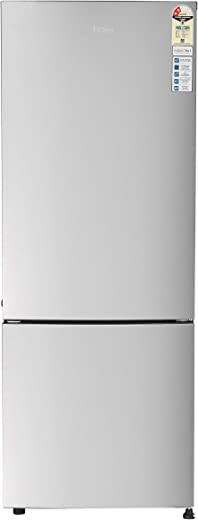 Haier 320 L 2 Star Inverter Frost-Free Double Door Refrigerator (HRB-3404BMS-E, Moon Silver)