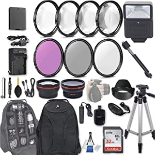 Canon Accessory Kits For Canon EOS Rebel T6 (58mm_ 28 Pcs)