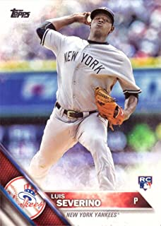 2016 Topps Factory Variation Baseball #265 Luis Severino Rookie Card