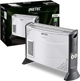 Imetec Eco Rapid TH1-100 - Convector 2000 W, Tecnologia Eco Rapid para un Bajo Consumo, Regulación de la Temperatura 4 Niveles, Termostato Regulable, Silencioso, Calefacción Rápida