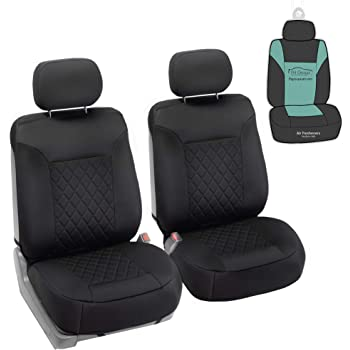 Water Resistant Heavy Duty Durable Black Single Seat Cover S- tech automotive Citroen C2 All Years