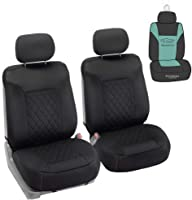 West Llama Sideless Front Car Seat Cover Protector Universal Fit 95/% of Cars 1 Piece Black SUVs, Sedans, Pickup Trucks, Vans