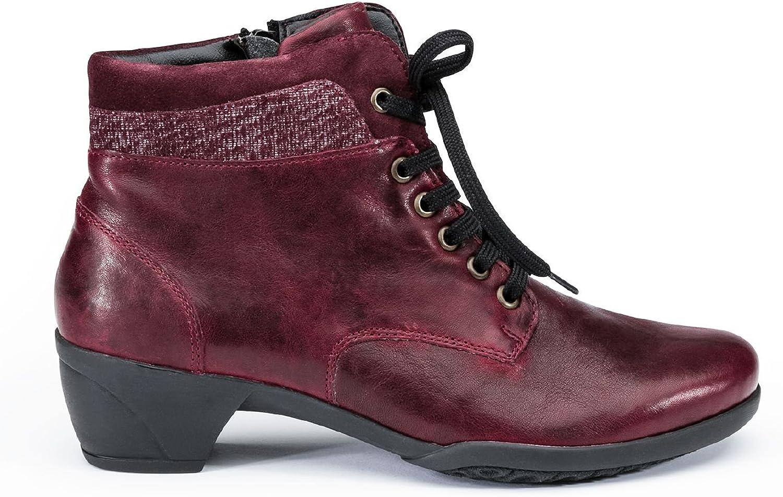 Avena Damen Hallux-Thermo-Stiefelette Rot 6,5 6,5  beste Qualität zum besten Preis