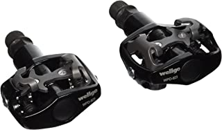 Wellgo WPD-823 MTB CR-MO Clipless Pedal, 9/16-Inch