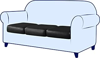 H2xW24xL72, White CHUN YI Upholstery 2 Height x 24 Width x 72 Length 55lbs High Density Firm Seat Cushion 3-Seater Large Sofa Couch Foam Replacement