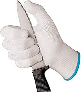 Paderno World Cuisine Cut-Resistant Gloves, Medium