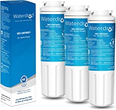 Waterdrop UKF8001 Refrigerator Water Filter, Compatible with Maytag UKF8001, UKF8001AXX-750, UKF8001AXX-200, Whirlpool 4396395, 469006, EveryDrop Filter 4, PUR, Puriclean II, EDR4RXD1, Pack of 3