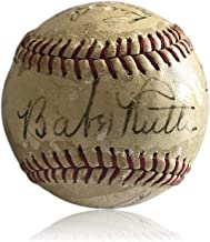 Babe Ruth Autographed Signed Pride Of The Yankees Baseball 11 Cast Members Memorabilia JSA COA