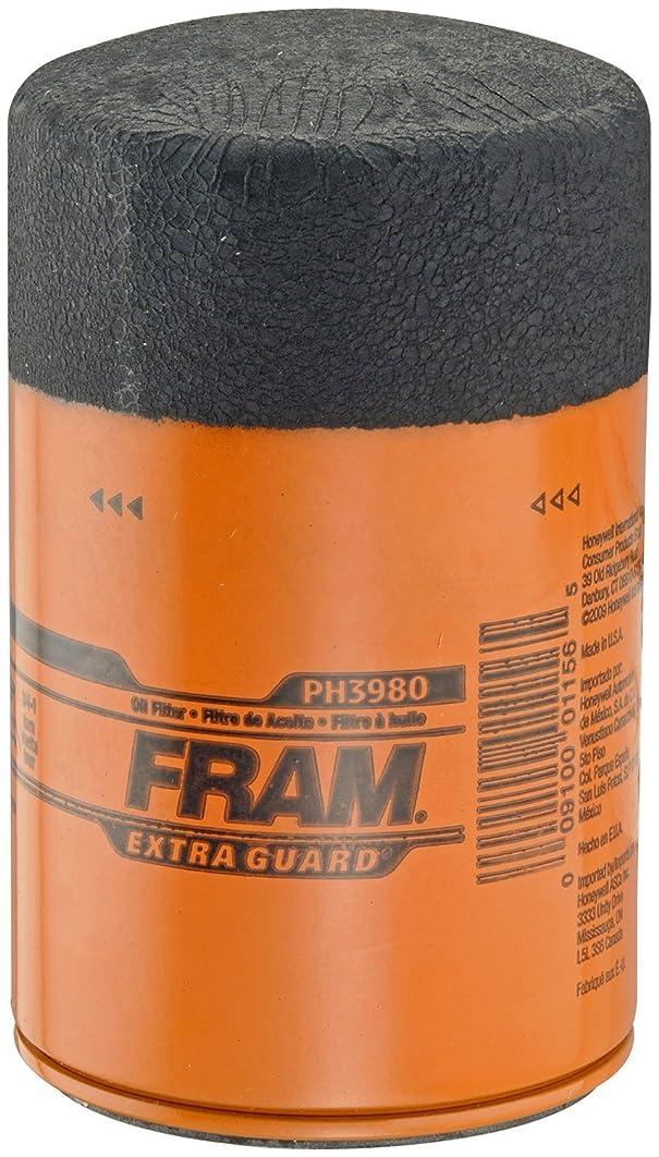 Fram PH3980 Extra Guard Passenger Car Spin-On Oil Filter (Pack of 2)