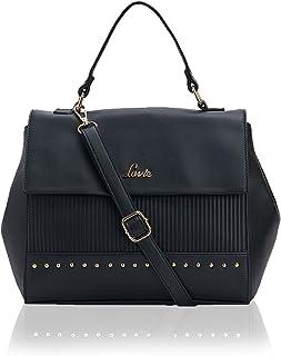 Lavie UMediume Medium Flap Sat Women's Handbag (Black)