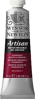 Winsor & Newton 1514468 Artisan Water Mixable Oil Colour, 37ml Tube, Permanent Alizarin Crimson, 37-ml